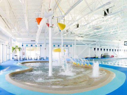 Kids Pool Splash in Health Club