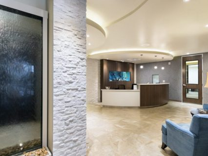 Med Spa view of lobby
