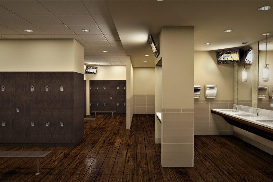 Waverley Oaks Athletic Club Locker Room website