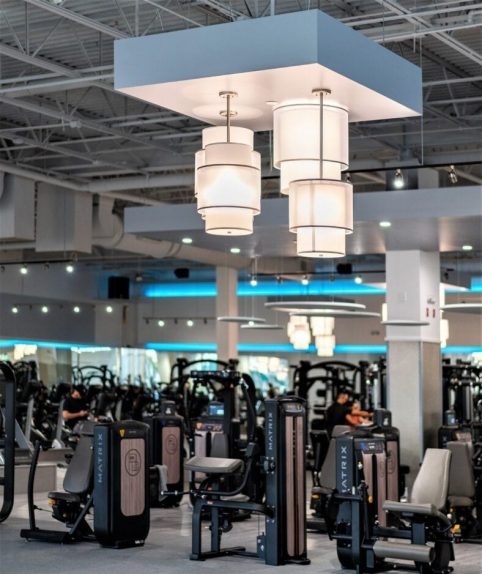New Renovation of Workout Floor Gym