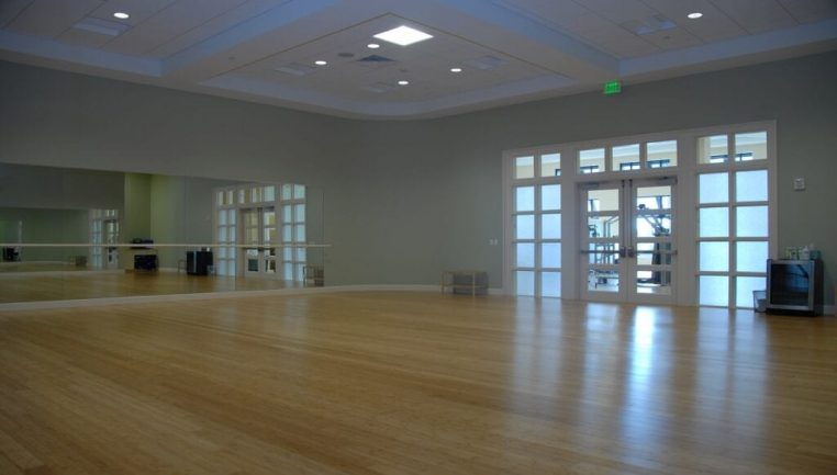 Group Training Room at Country Club Fitness Center